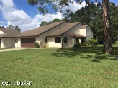 Volusia County Attached For Sale: 106 Fox Fire Circle