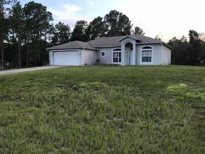 New Smyrna Beach Single Family Home For Sale: 4035 Crestridge Drive