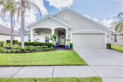 Pelican Bay, Ashton Lakes, Cypress Head, Sabal Creek, Sanctuary On Spruce Creek, Spruce Creek Fly In, Villages Of Royal Palm, Waters Edge Single Family Home For Sale: 5403 Swordfern Court