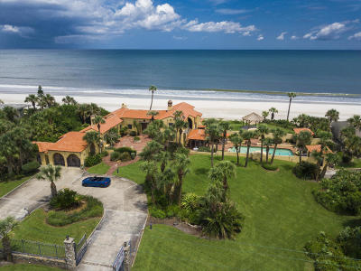 Flagler County, Volusia County Single Family Home For Sale: 201 Ocean Shore Boulevard