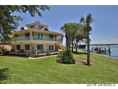 Ponce Inlet Single Family Home For Sale: 151 Bounty Lane