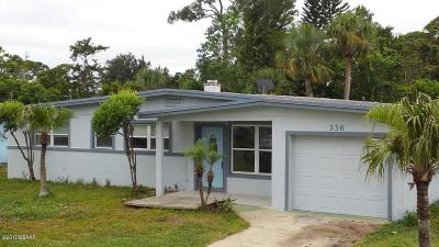 Volusia County Single Family Home For Sale: 336 McIntosh Road