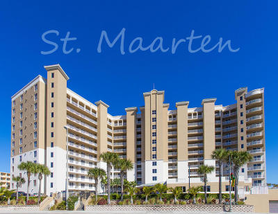 Daytona Beach Shores Condo/Townhouse For Sale: 2403 S Atlantic Avenue #204