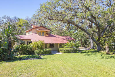 Port Orange Single Family Home For Sale: 5086 Riverside Drive