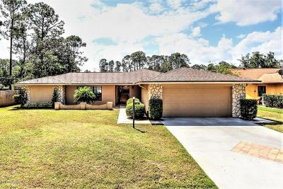 Palm Coast, Flagler Beach Single Family Home For Sale: 54 Berkshire Lane