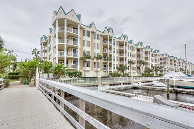 Ponce Inlet, South Daytona, Wilbur-by-the-sea Condo/Townhouse For Sale: 4624 Harbour Village Boulevard #4507