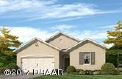 New Smyrna Beach Single Family Home For Sale: 2906 Gibraltor Boulevard