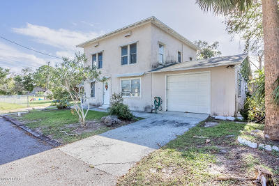 Volusia County Multi Family Home For Sale: 1302, 1304 Holly Avenue