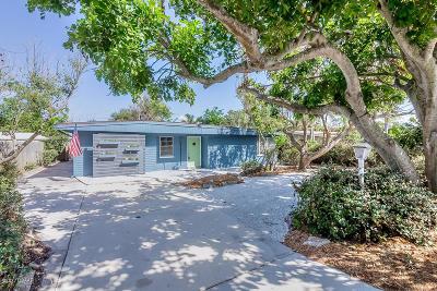 New Smyrna Beach Single Family Home For Sale: 1811 N Peninsula Avenue