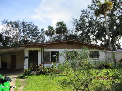 Volusia County Single Family Home For Sale: 809 N Kottle Circle