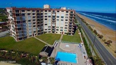 Flagler Beach Condo/Townhouse For Sale: 3600 S Ocean Shore Boulevard #713