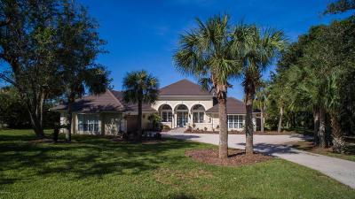 Hammock Dunes Single Family Home For Sale: 9 Island Estates Parkway