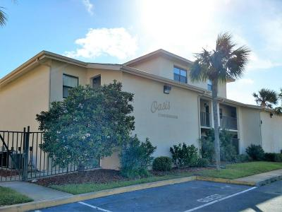 Daytona Beach Shores Condo/Townhouse For Sale: 103 Browning Avenue #12