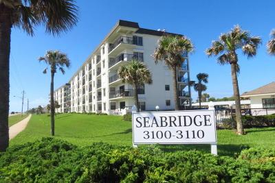 Volusia County Condo/Townhouse For Sale: 3100 Ocean Shore Boulevard #204