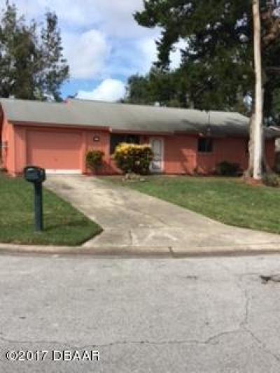 Ormond Beach FL Single Family Home For Sale: $167,500