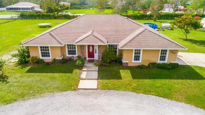 New Smyrna Beach Single Family Home For Sale: 2524 Glencoe Farms Road
