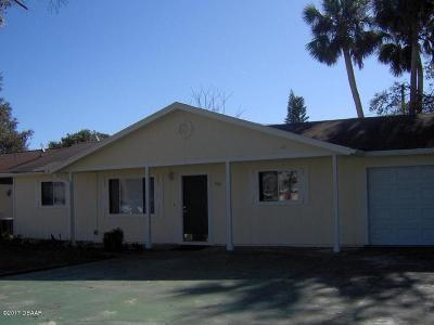 South Daytona Single Family Home For Sale: 533 Northern Road