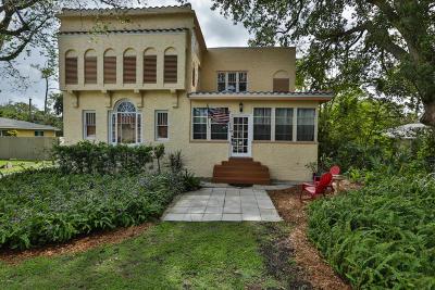 South Daytona Single Family Home For Sale: 709 Ridge Boulevard