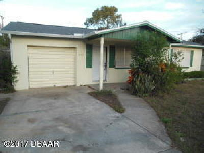 Daytona Beach Single Family Home For Sale: 839 Berkshire Road