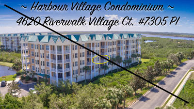 Ponce Inlet Condo/Townhouse For Sale: 4620 Riverwalk Village Court #7305