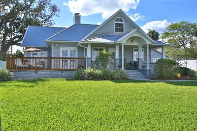 Port Orange Single Family Home For Sale: 4750 Halifax Drive