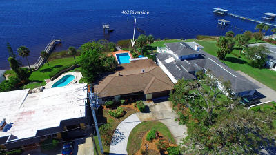 Ormond Beach Single Family Home For Sale: 462 Riverside Drive