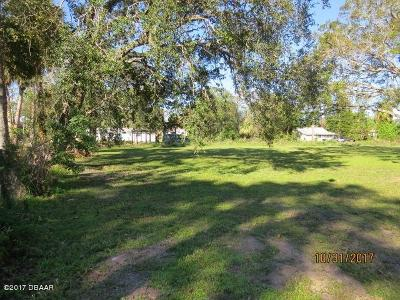 New Smyrna Beach FL Residential Lots & Land For Sale: $39,900