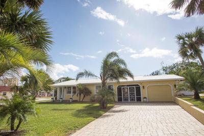 Daytona Beach Single Family Home For Sale: 110 Sunrise Boulevard