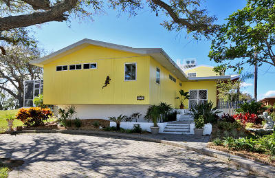 Daytona Beach Single Family Home For Sale: 2720 S Peninsula Drive