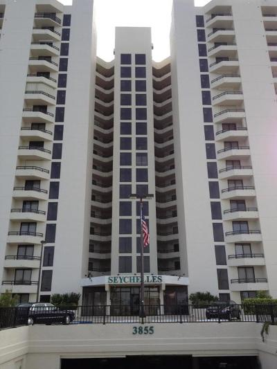 Daytona Beach Condo/Townhouse For Sale: 3855 S Atlantic Avenue #PH3