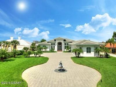 Flagler County, Volusia County Single Family Home For Sale: 3020 S Peninsula Drive