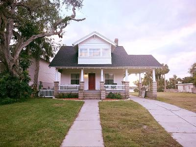 Daytona Beach Single Family Home For Sale: 219 N Halifax Avenue