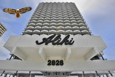 Daytona Beach Condo/Townhouse For Sale: 2828 N Atlantic Avenue #1005