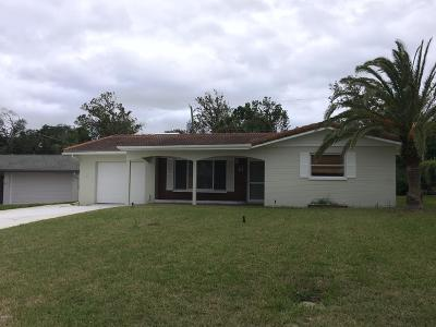 Volusia County Rental For Rent: 61 Rivocean Drive