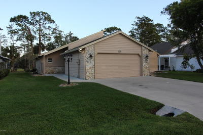 Daytona Beach Single Family Home For Sale: 225 Gull Drive