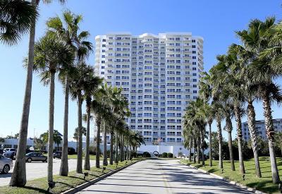 Daytona Beach Shores Condo/Townhouse For Sale: 2 Oceans West Boulevard #1403