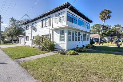 Volusia County Multi Family Home For Sale: 1502 Riverside Drive