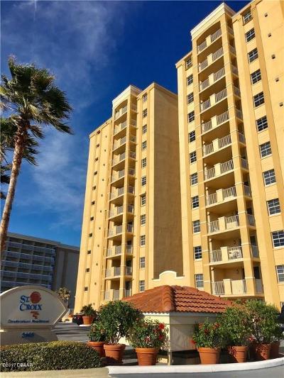 Daytona Beach Condo/Townhouse For Sale: 3145 S Atlantic Avenue #201