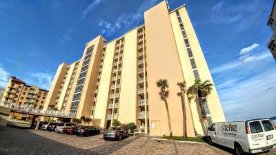 Daytona Beach Shores Condo/Townhouse For Sale: 3815 S Atlantic Avenue #804