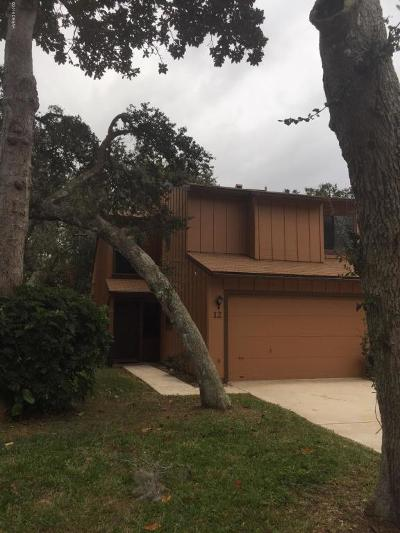 Volusia County Attached For Sale: 12 Park Terrace