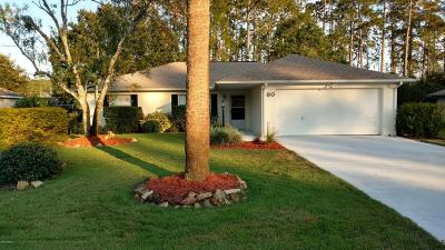 Palm Coast Single Family Home For Sale: 80 Brittany Lane