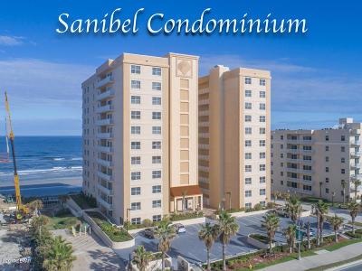 Daytona Beach Condo/Townhouse For Sale: 3799 S Atlantic Avenue #601