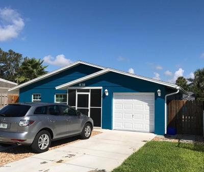 New Smyrna Beach Single Family Home For Sale: 838 E 15th Avenue