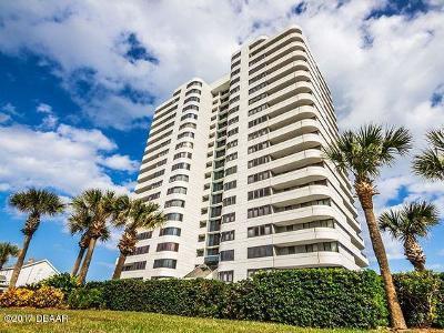 Daytona Beach Condo/Townhouse For Sale: 1420 N Atlantic Avenue #1803