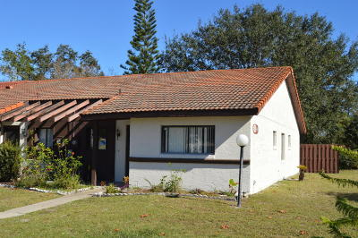 Volusia County Attached For Sale: 3543 Forest Branch Drive #D