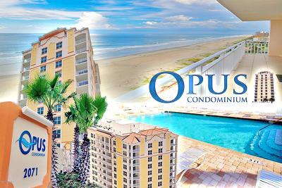 Daytona Beach Shores Condo/Townhouse For Sale: 2071 S Atlantic Avenue #1001