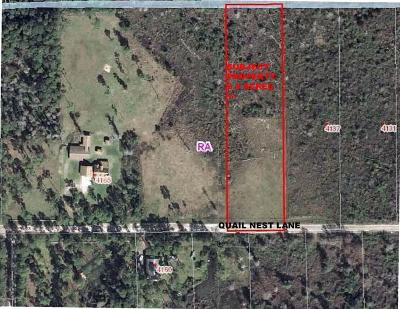 Volusia County Residential Lots & Land For Sale: Quail Nest Quail Nest Lane