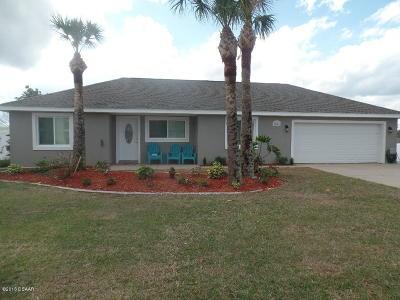 Daytona Beach Single Family Home For Sale: 3854 S Atlantic Avenue
