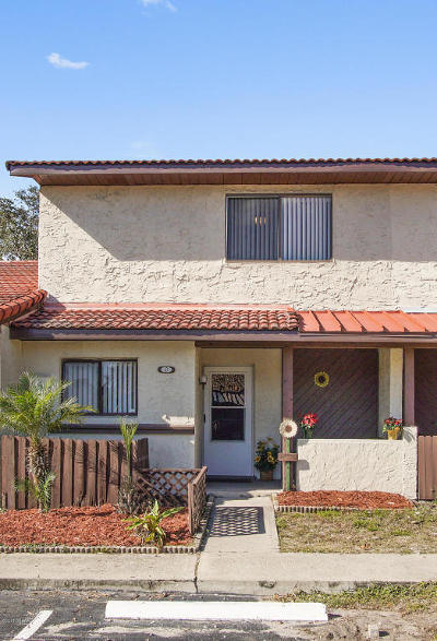 Volusia County Attached For Sale: 3549 Forest Branch Drive #C