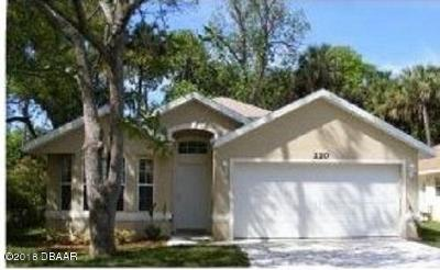 Volusia County Single Family Home For Sale: 220 S Adams Street